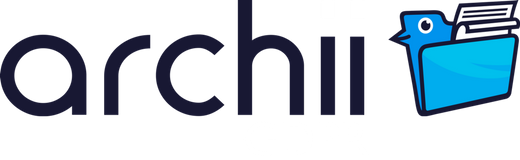 Archii GDPR software logo -white